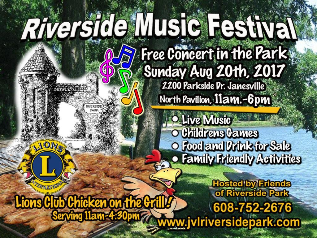 Riverside Music Festival 2017