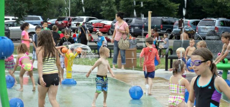 Splash Pad to open May 19 for 2018 season